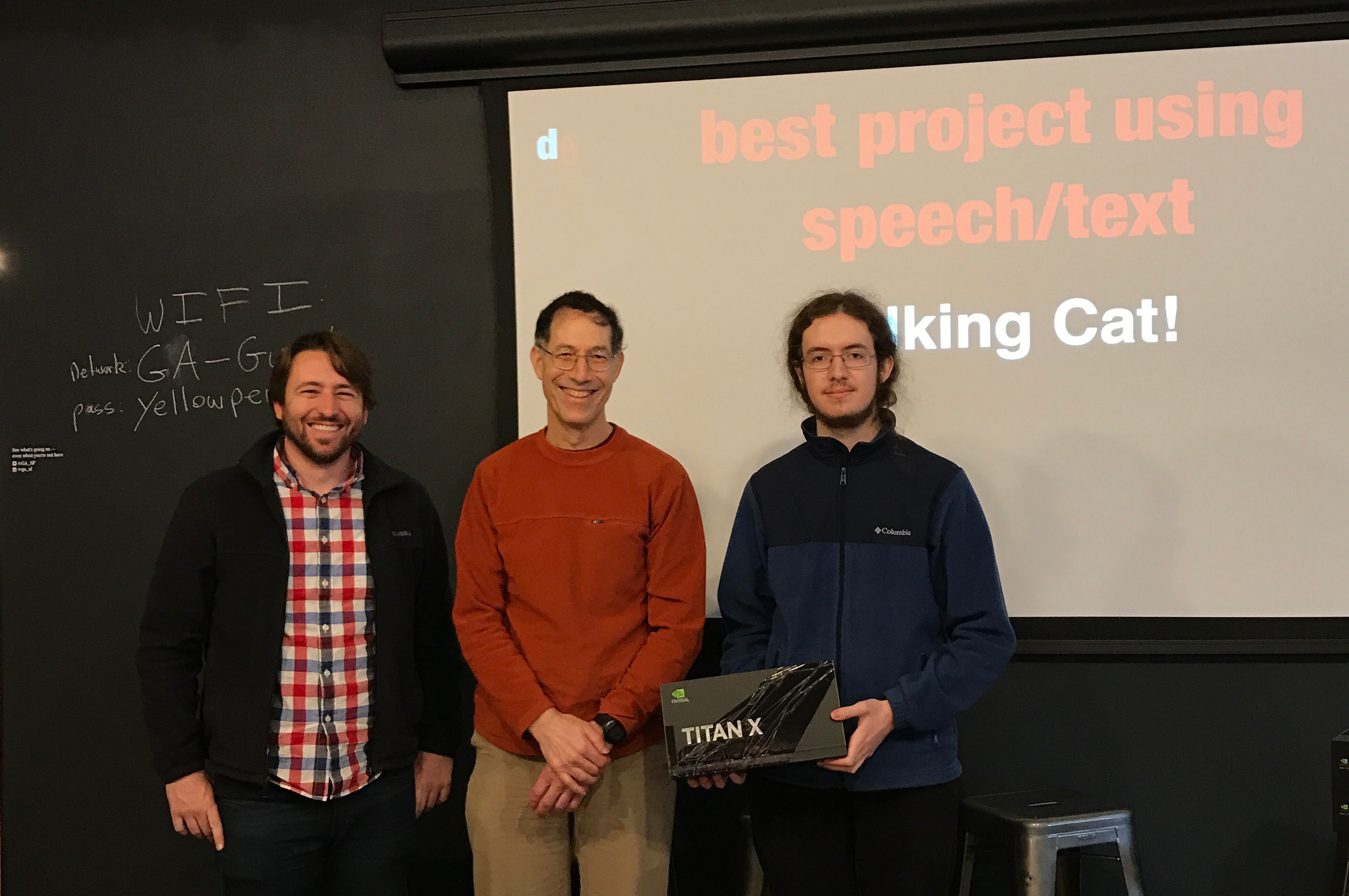 Tim Winning Best Project Using Speech